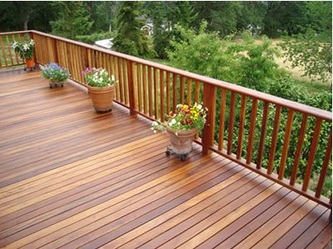 Brazilian Hardwood Deck